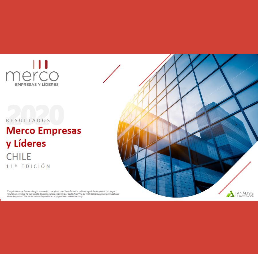 Estudio: Merco Empresas y Líderes CHILE 11ª EDICIÓN