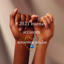 Imagen de la Nota: P&G se compromete a liderar 2.021 buenas acciones para celebrar el 2021 con su campaña #ActuemosUnidos