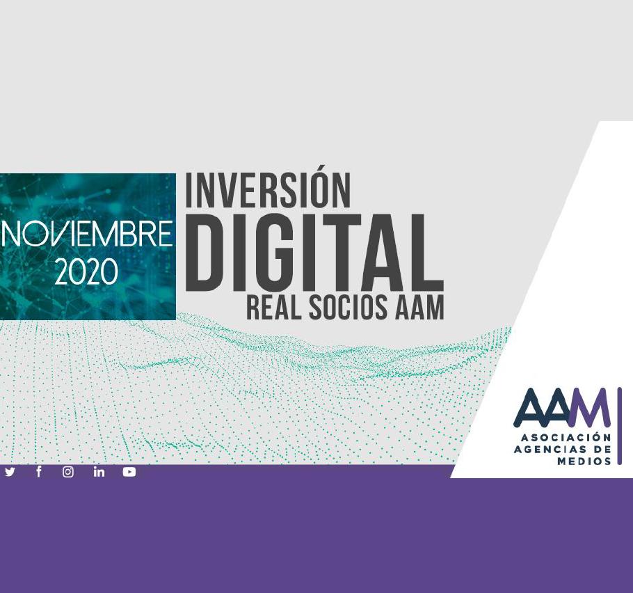 Estudio: Inversión Digital Real Socios AAM – noviembre 2020