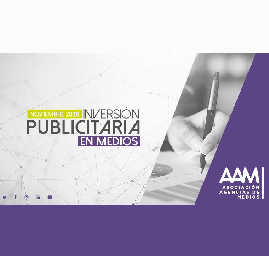 Estudio: Inversión Publicitaria en Medios – noviembre 2020