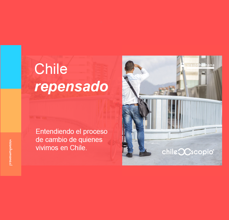 Estudio: Chile repensado: Entendiendo el proceso de cambio de quienes vivimos en Chile. [Chilescopio]