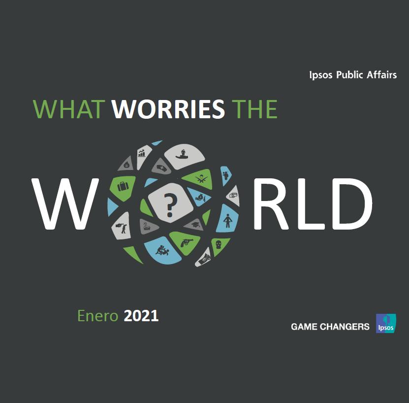 Estudio: What worries the world – Resumen Chile enero 2021 (ES)