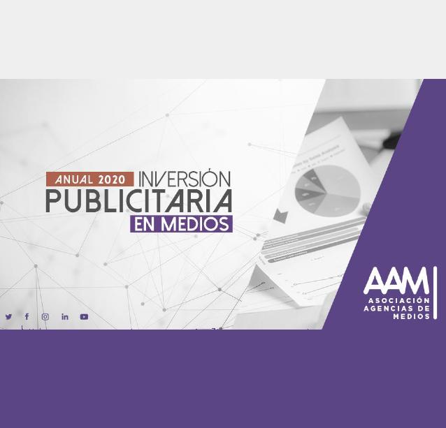 Estudio: Inversión Publicitaria en Medios – anual 2020