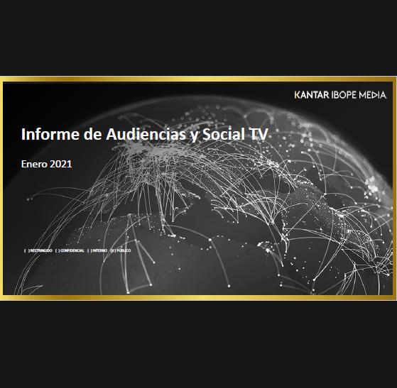 Estudio: Informe de Audiencias y Social TV – enero 2020