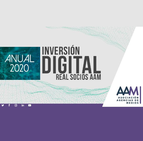 Estudio: Inversión Digital Real Socios AAM – anual 2020