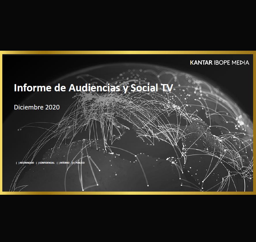 Estudio: Informe de Audiencias y Social TV – diciembre 2020