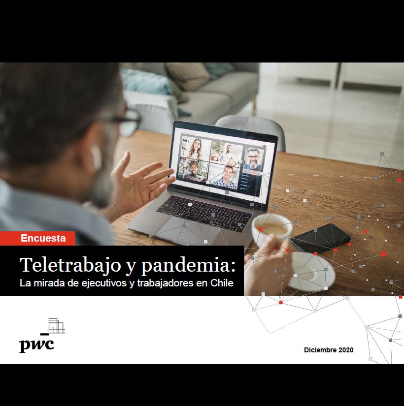 Estudio: Teletrabajo y pandemia: La mirada de ejecutivos y trabajadores en Chile
