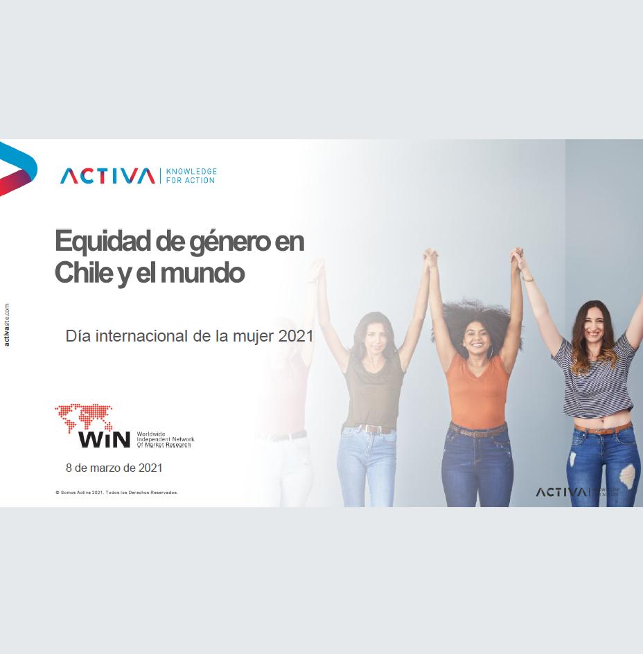 Estudio: Equidad de género en Chile y el mundo: Día internacional de la mujer 2021