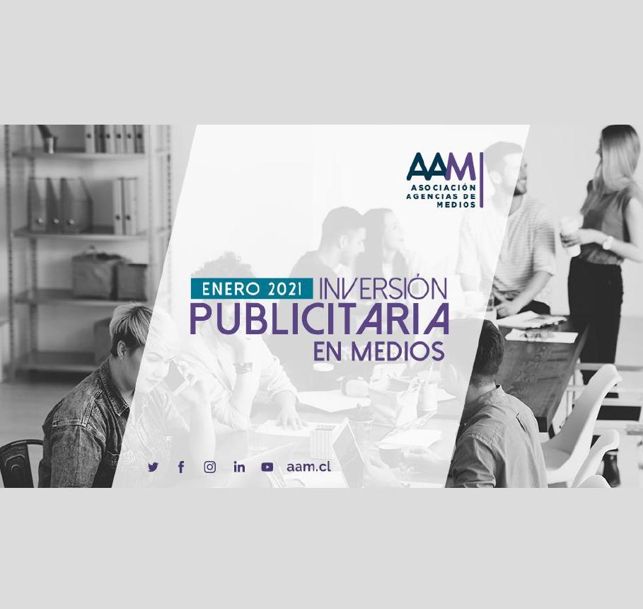 Estudio: Inversión Publicitaria en Medios – enero 2021