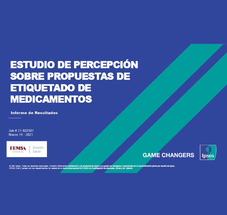 Estudio: Estudio de Percepción sobre Propuesta de Etiquetado de Medicamentos