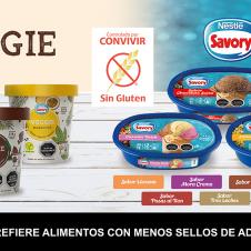 Imagen de la Nota: Helados Savory de litro ya cuentan con la certificación Libre de Gluten