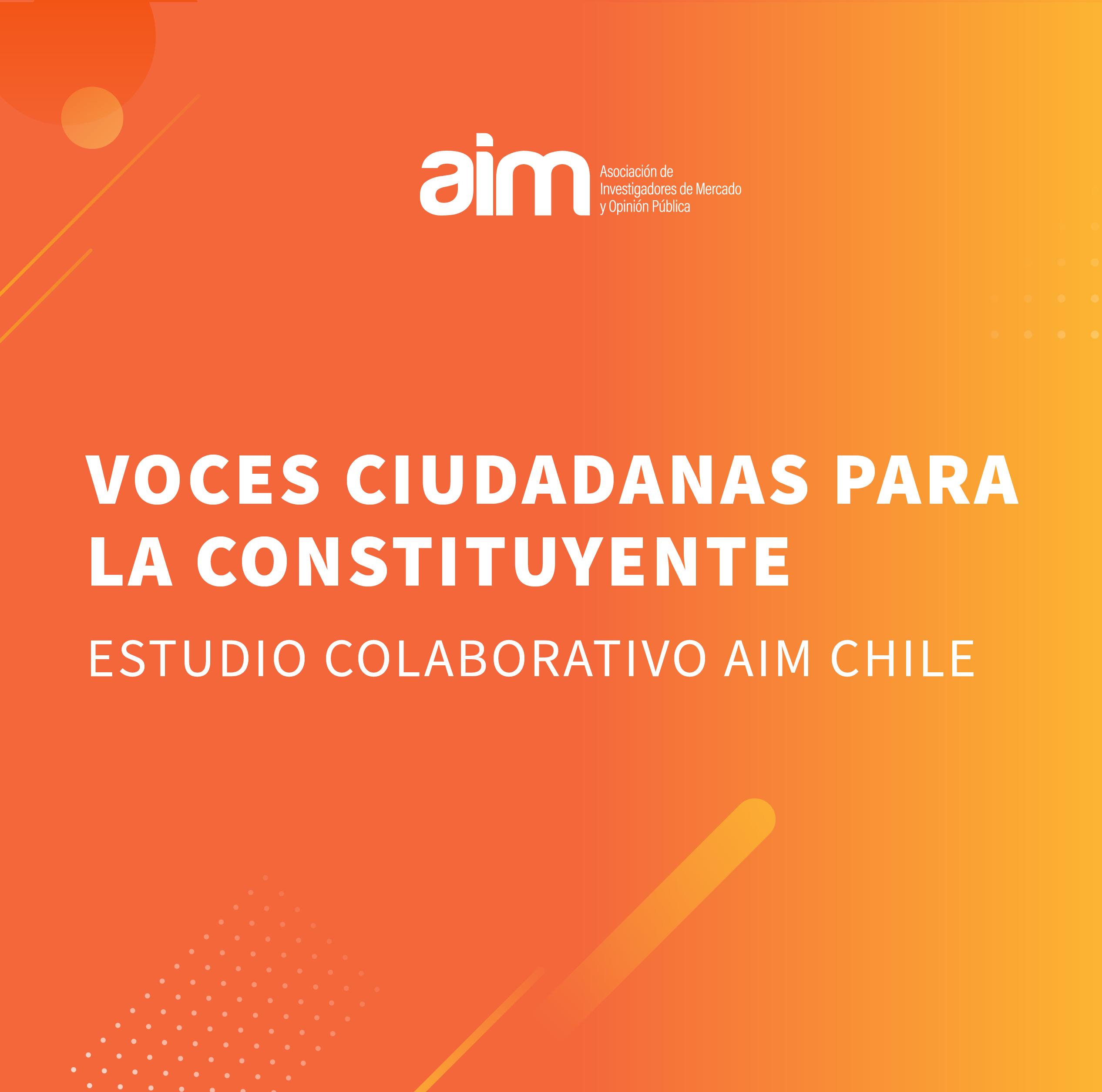 Estudio: Voces Ciudadanas para la Constituyente
