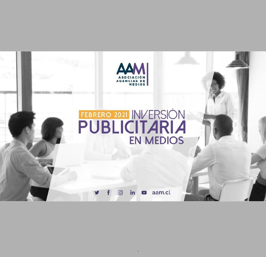 Estudio: Inversión Publicitaria en Medios – febrero 2021