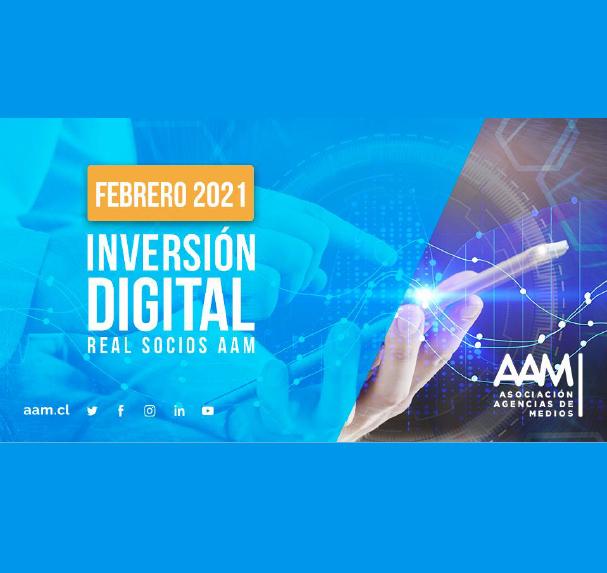 Estudio: Inversión Digital Real Socios AAM – febrero 2021