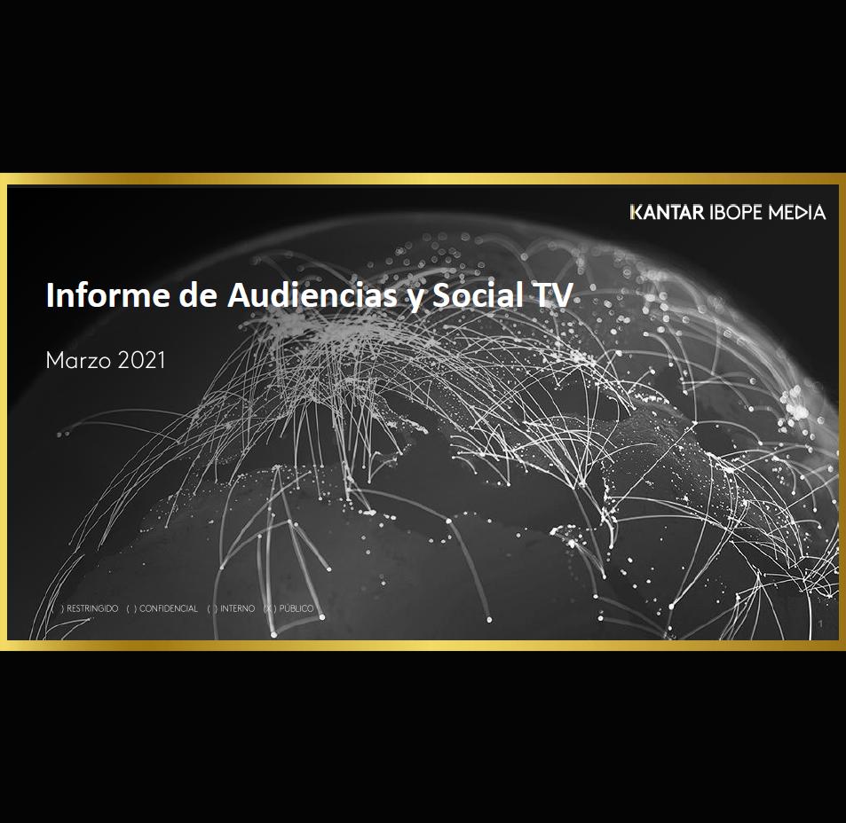 Estudio: Informe de Audiencias y Social TV – marzo 2021