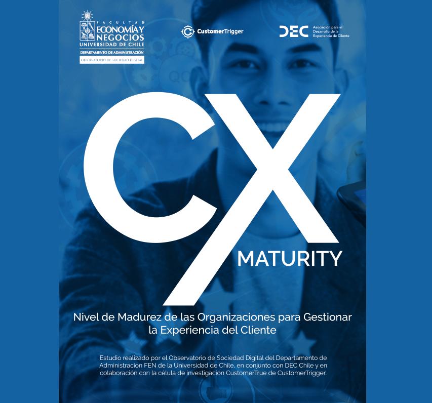 Estudio: CX Maturity, Nivel de Madurez de las Organizaciones para Gestionar la Experiencia del Cliente