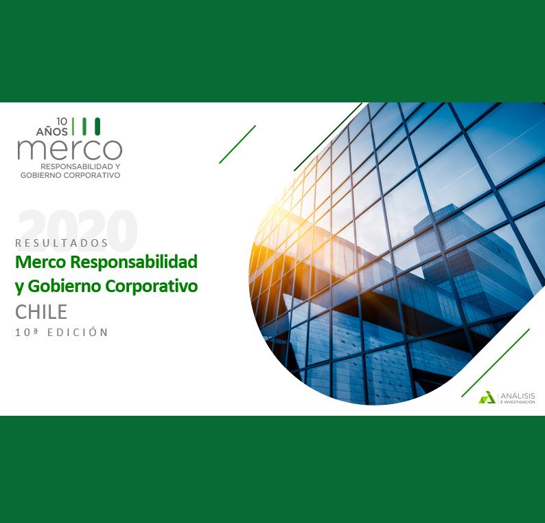Estudio: Ranking Merco: Responsabilidad y gobierno corporativo