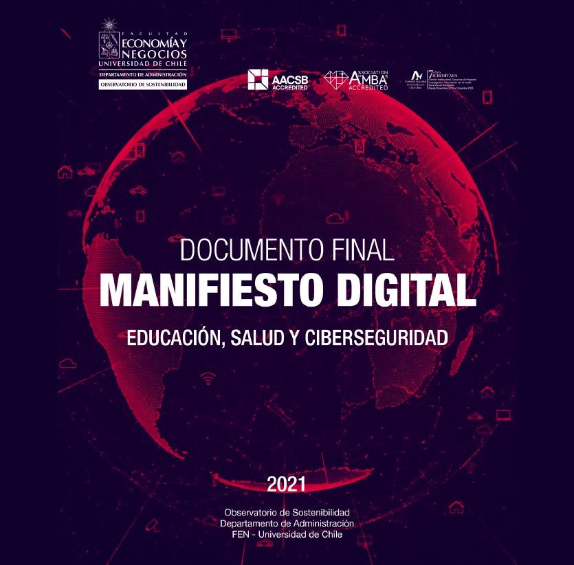 Estudio: Manifiesto Digital – educación, salud y ciberseguridad