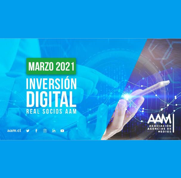 Estudio: Inversión Digital Real Socios AAM – marzo 2021