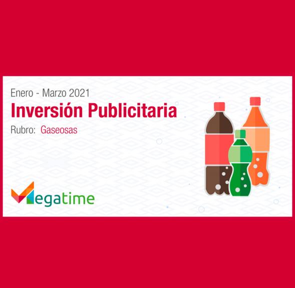 Estudio: Inversión publicitaria de gaseosas 2021 – enero a marzo