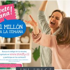 Imagen de la Nota: SVELTY sorteará un millón de pesos a la semana