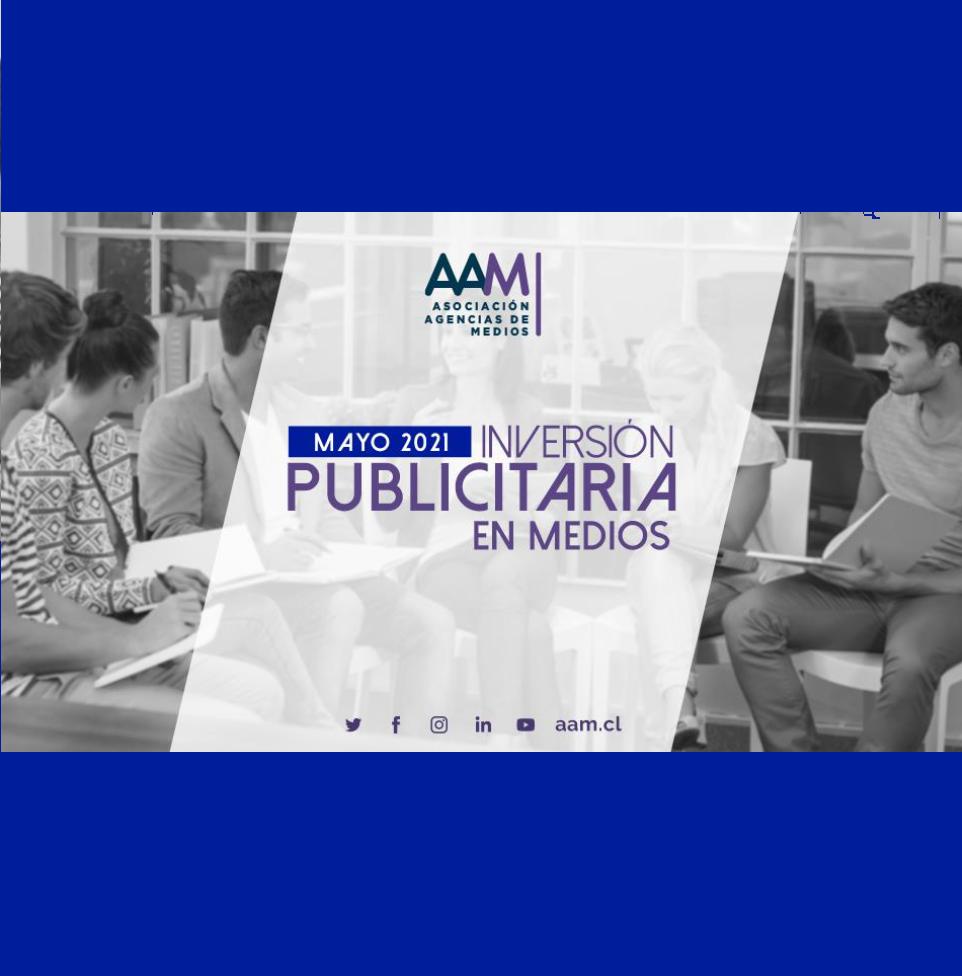 Estudio: Inversión Publicitaria en Medios – mayo 2021