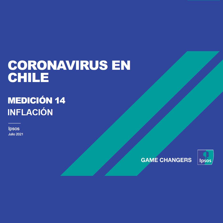 Estudio: Coronavirus en Chile – Tracking IPSOS #14b [Inflación]
