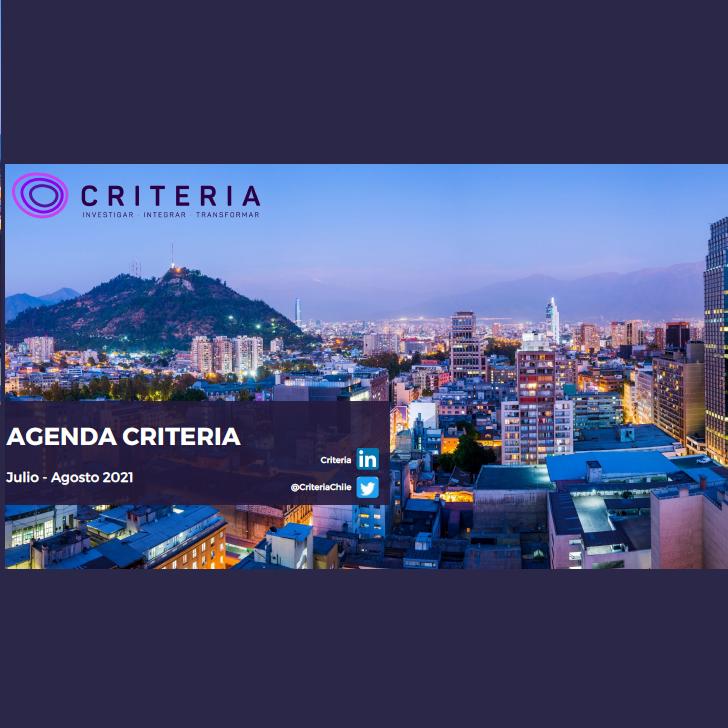 Estudio: Agenda Criteria Julio-Agosto 2021