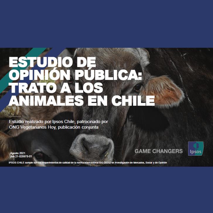 Estudio: Estudio de opinión pública: Trato a los Animales en Chile