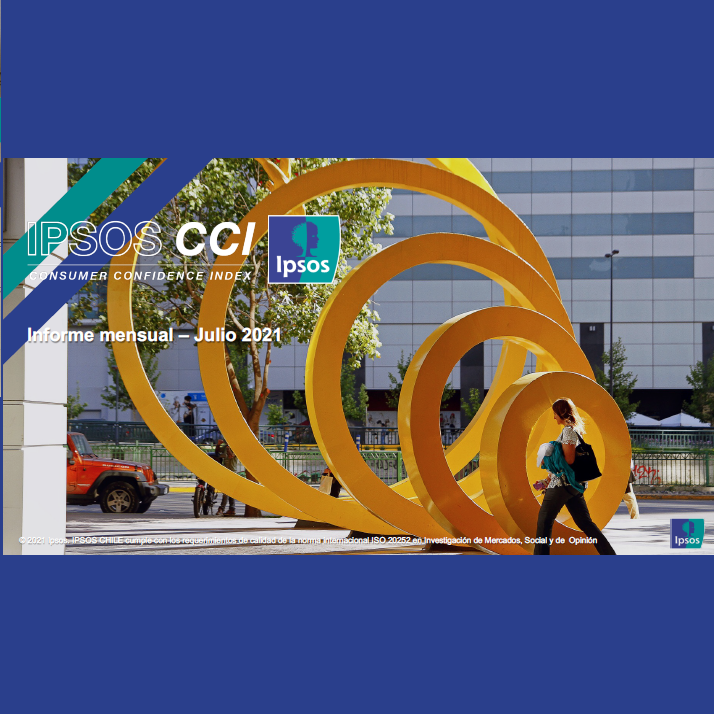 Estudio: IPSOS CCI: Índice de confianza del consumidor – julio 2021