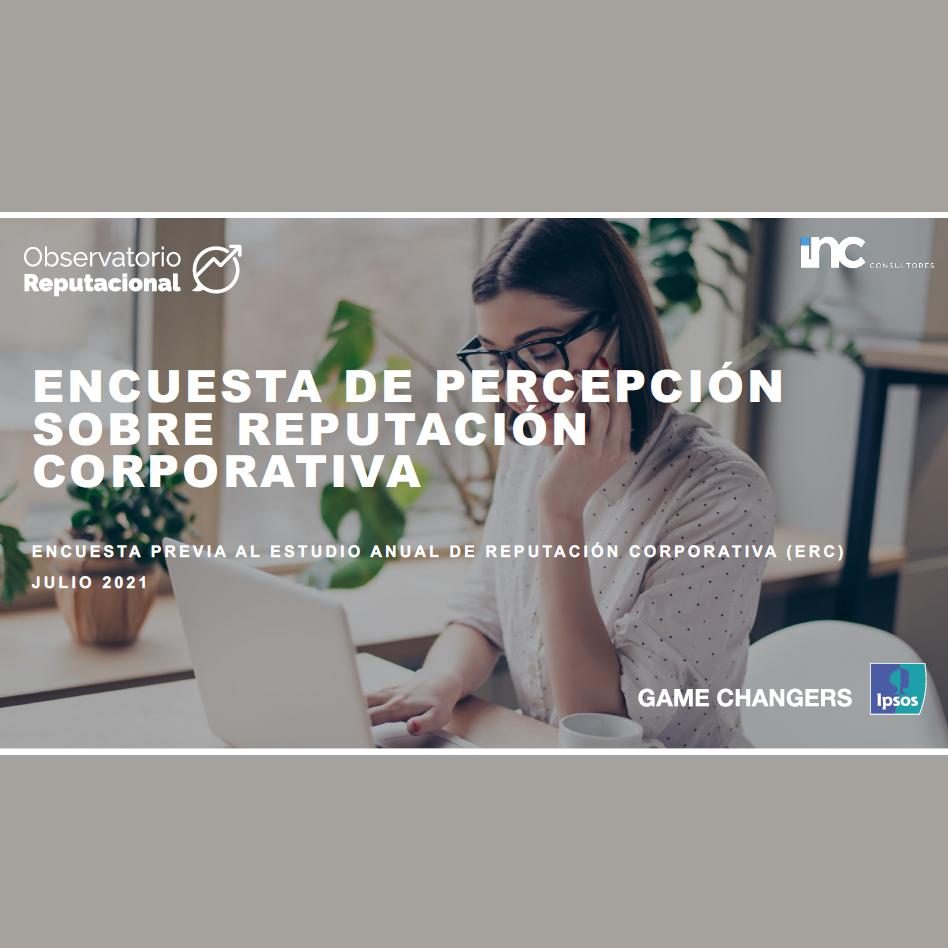 Estudio: Encuesta De Percepción Sobre Reputación Corporativa