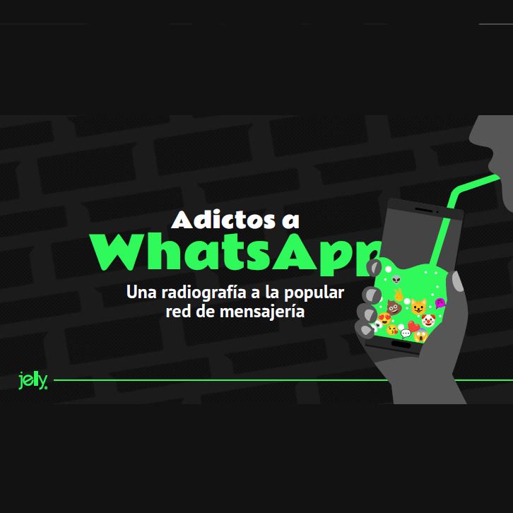Estudio: Adictos a Whatsapp: Más de 4 horas diarias le dedican los chilenos a la red de mensajería
