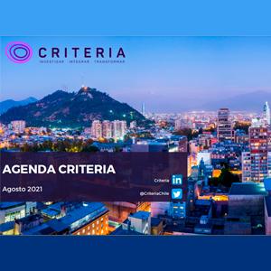 Estudio: Agenda Criteria – agosto 2021