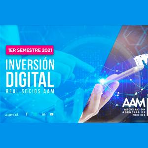 Estudio: Informe inversión digital 1° semestre 2021