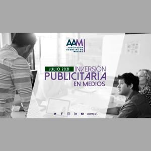 Estudio: Inversión publicitaria en medios – julio 2021