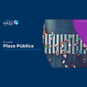 Estudio: Plaza pública CADEM – segunda semana de septiembre 2021