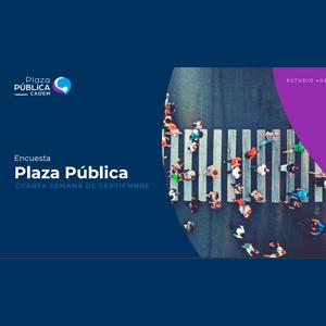 Estudio: Plaza pública CADEM – cuarta semana de septiembre 2021