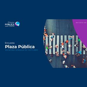 Estudio: Plaza pública CADEM – primera semana de octubre