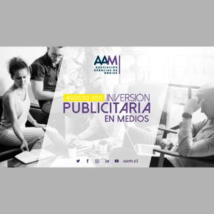 Estudio: Inversión publicitaria en medios – agosto 2021