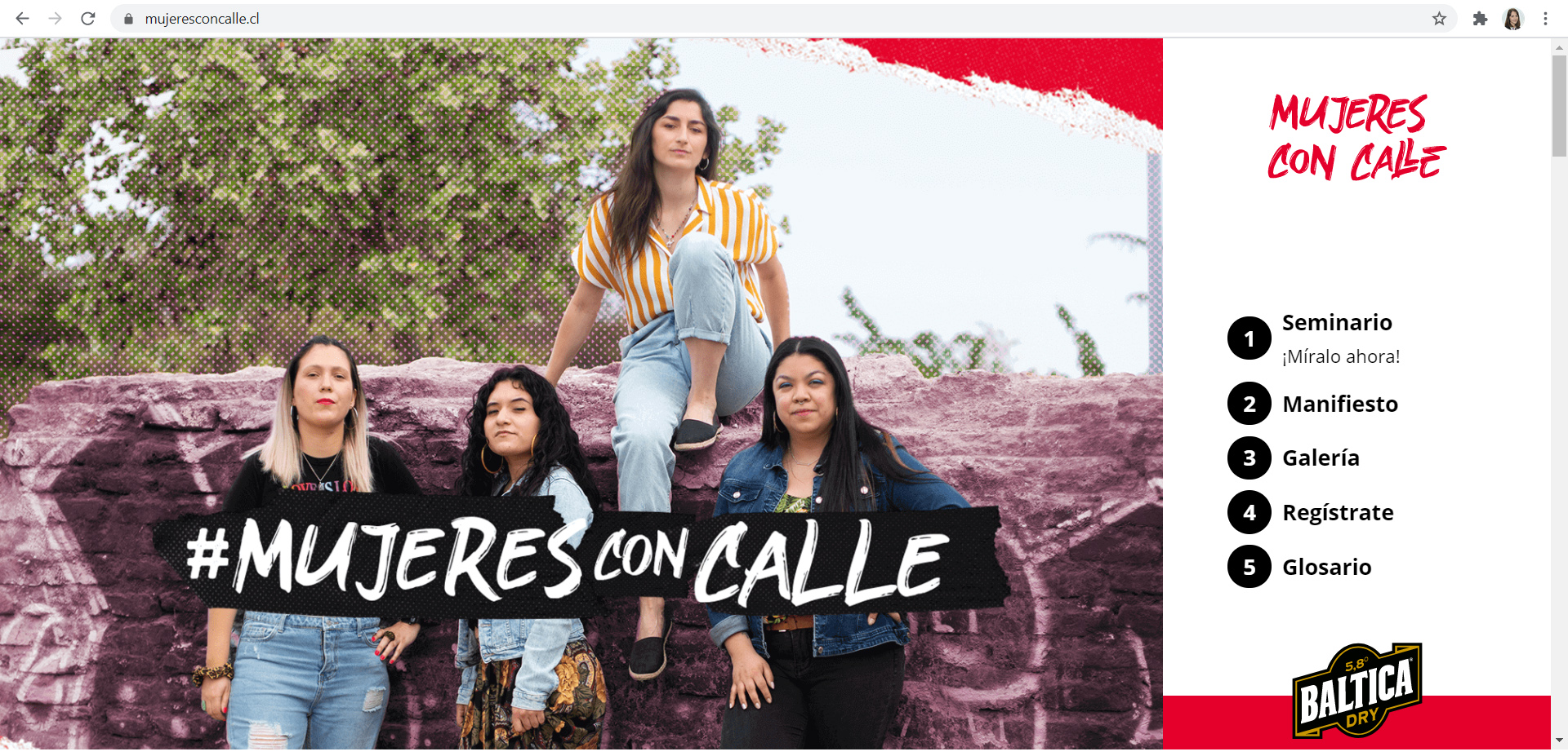 mujeresconcalle.cl