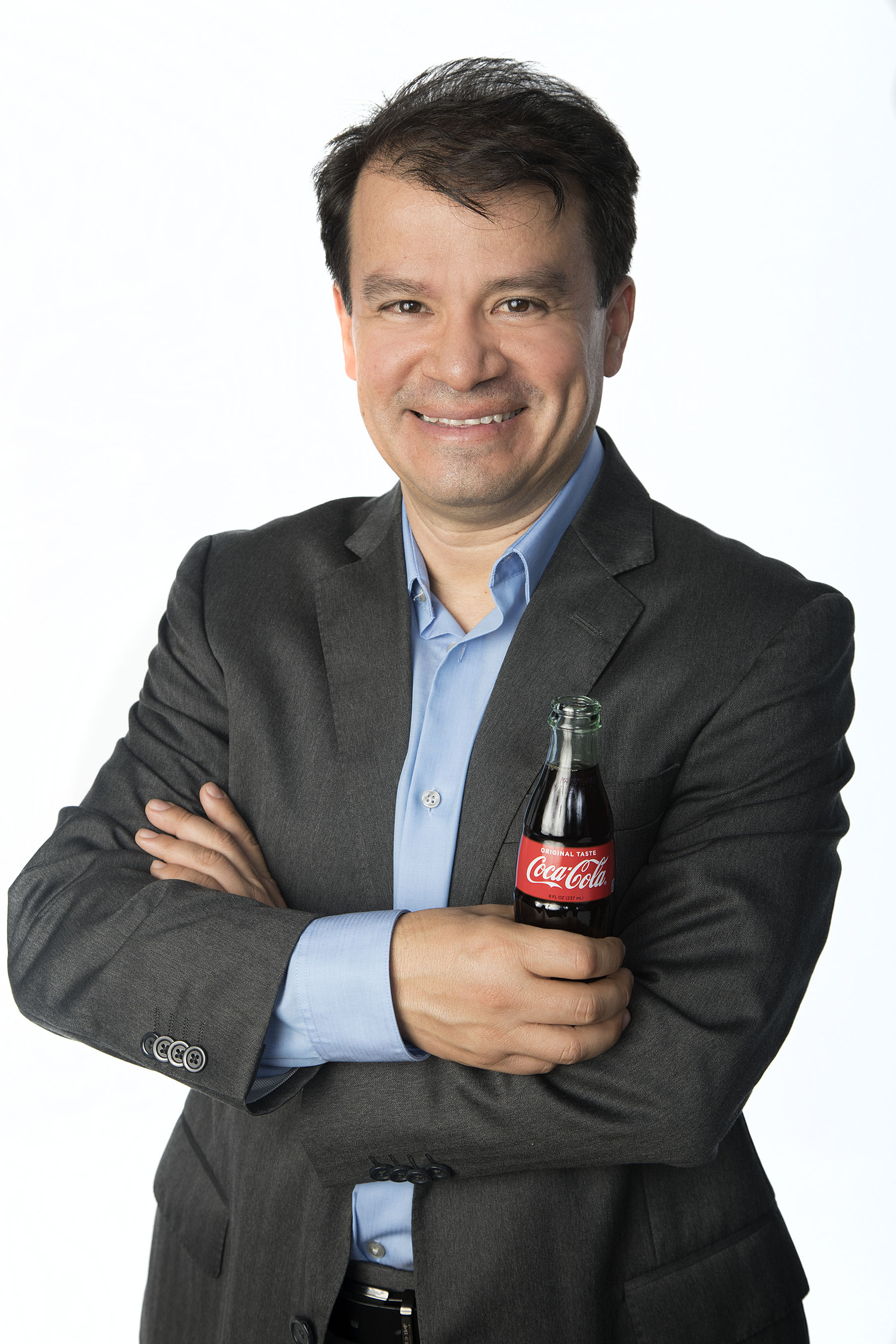 Javier Meza, vicepresidente de Marketing de Coca-Cola Latinoamérica