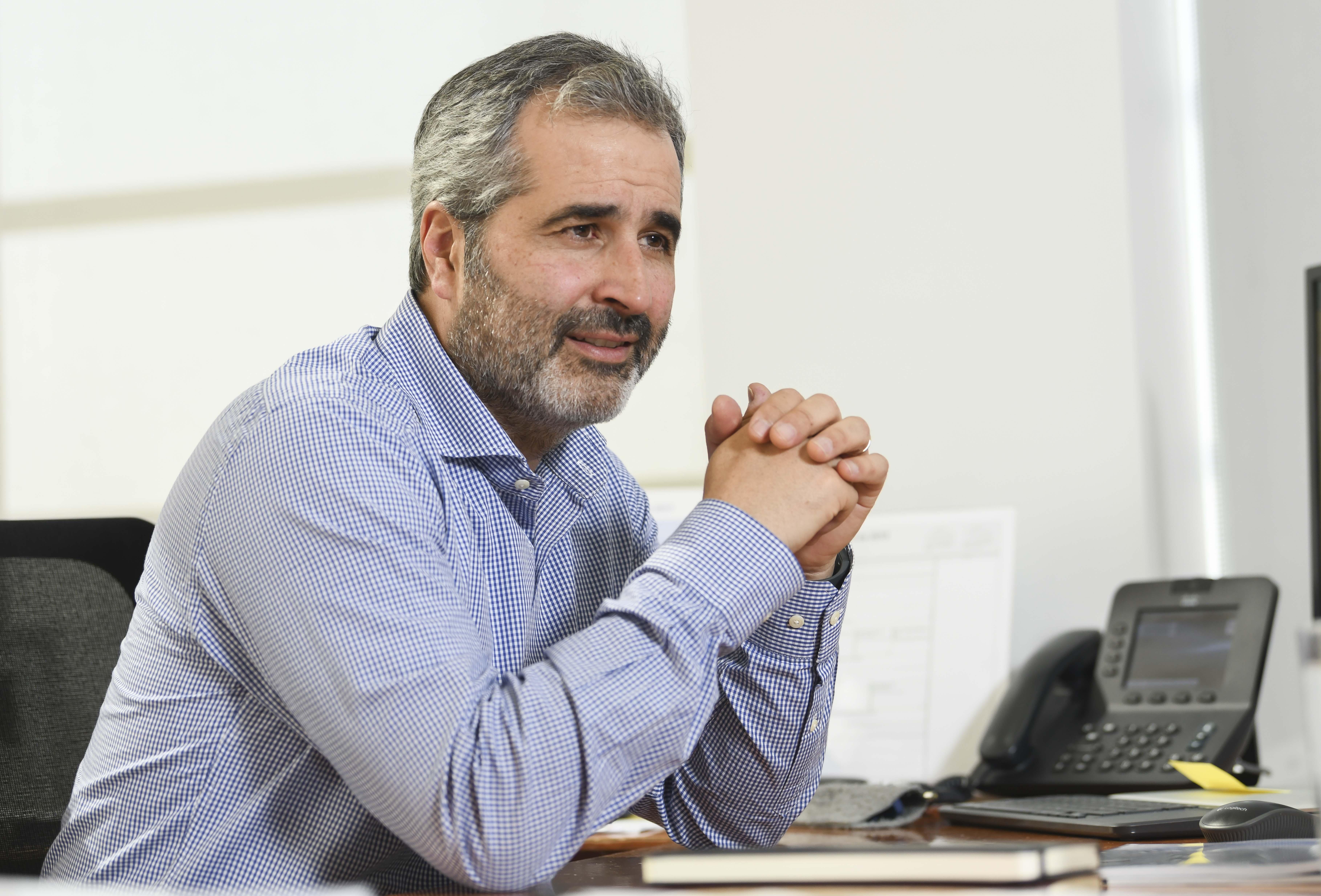 Pablo Montesinos, gerente general de Empresas Iansa