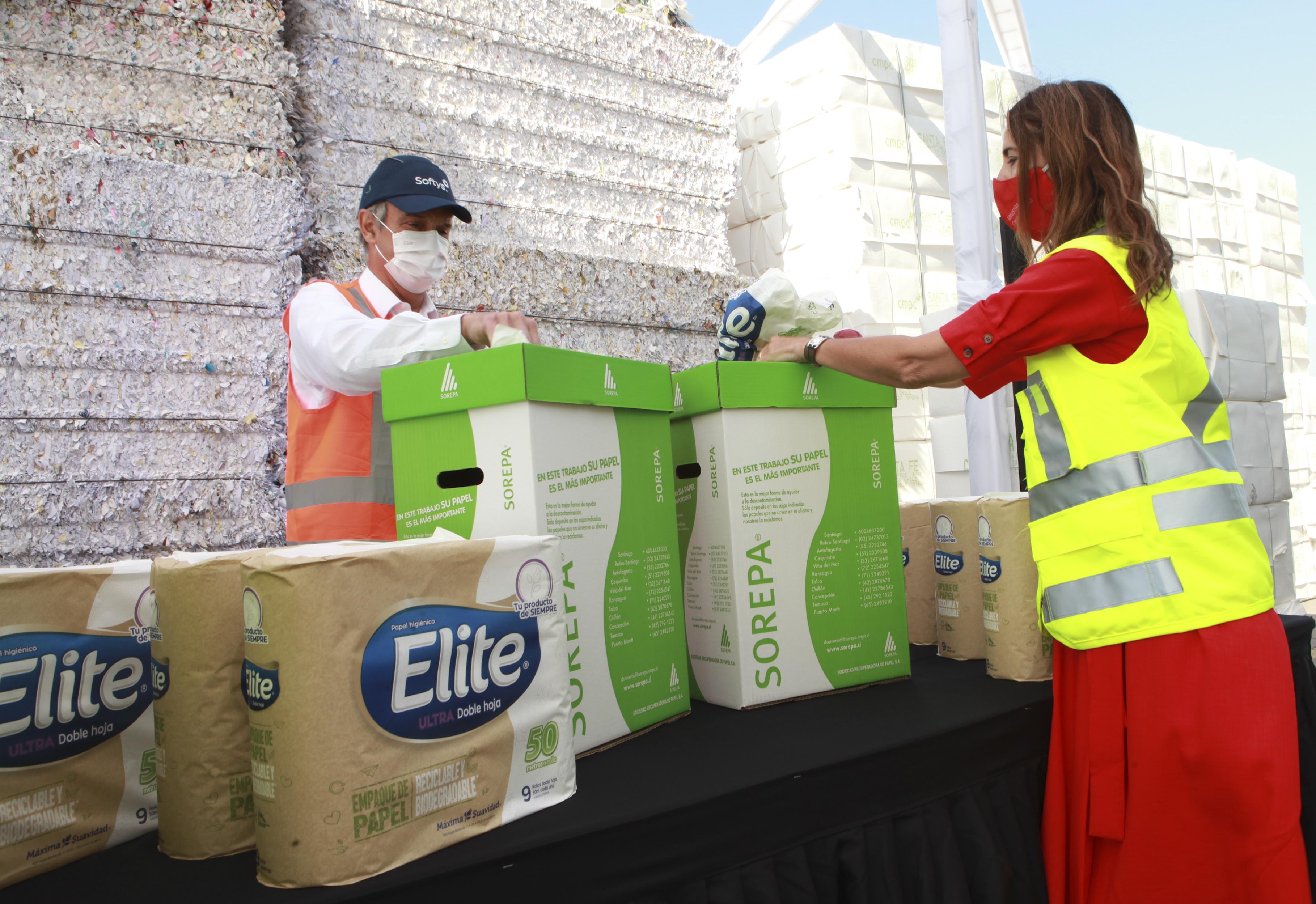Softys está trabajando en la economía circular y el consumo responsable